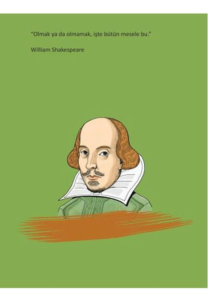 William Shakespeare Ciltli Defter