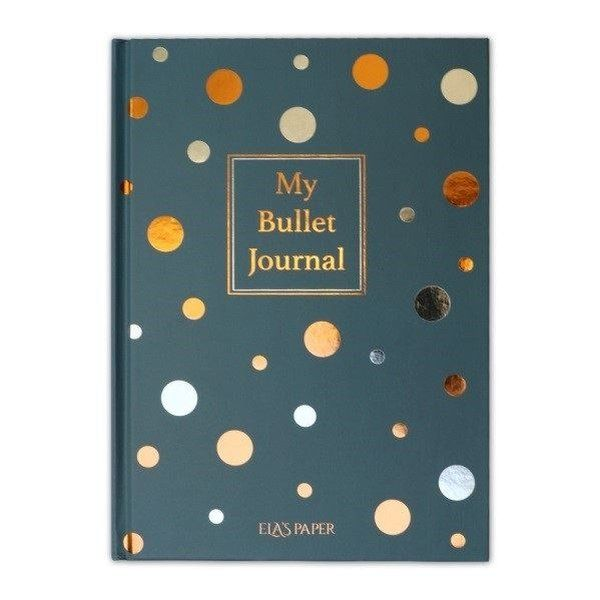 My Bullet Journal Defter Confetti Mavi