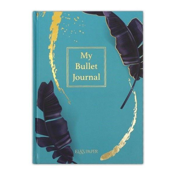 My Bullet Journal Defter Tropikal Mavi