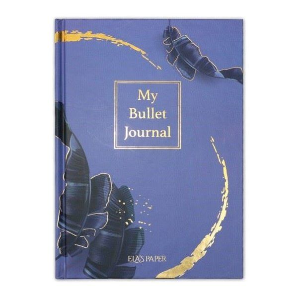 My Bullet Journal Defter Tropikal Mor