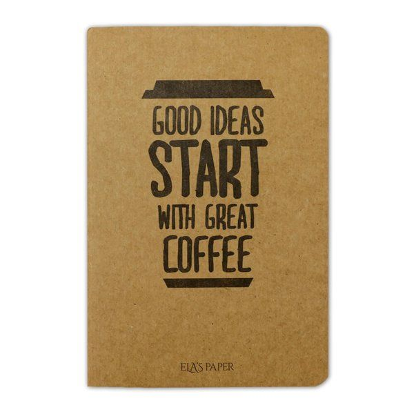 Coffee Good Ideas Defter