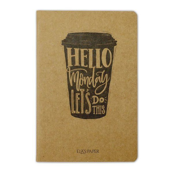 Hello Monday Coffee Defter