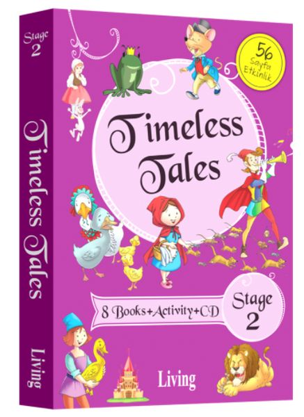 Timeless Tales Stage 2 8 Books Activity Cd