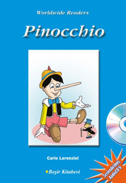 Pinocchio Level 1 CD'li
