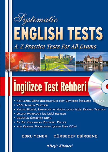 Systematic English Tests İngilizce Test Rehberi CDli